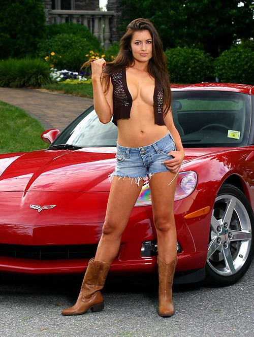 from Ali sexy women on cars